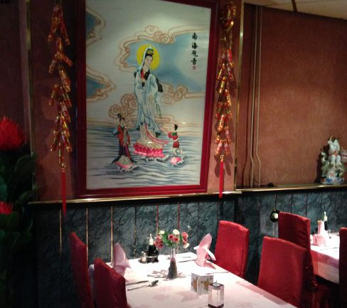 Chinees Restaurant interieur